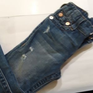 True Religion kids distressed  jeans size 5 girl